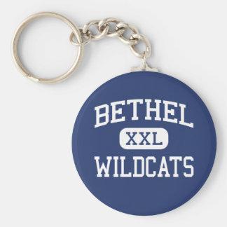 Bethel - Wildcats - High School - Shawnee Oklahoma Key Ring