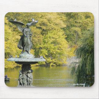 Bethesda Fountain Central Park Mousepad