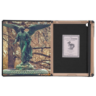 Bethesda Fountain in Central Park Photo Cases For iPad
