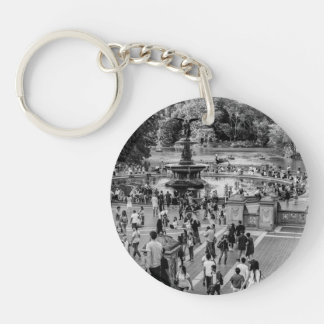Bethesda Fountain in Central Park Photo Key Chains