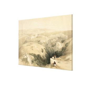 Bethlehem, April 6th 1839, plate 85 from Volume II Canvas Print