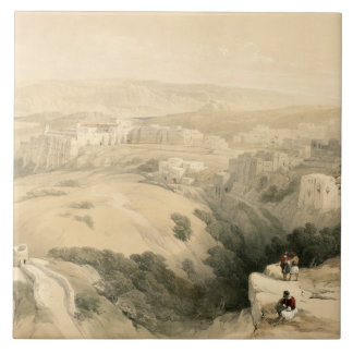 Bethlehem, April 6th 1839, plate 85 from Volume II Large Square Tile