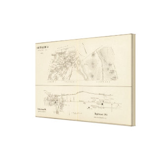 Bethlehem, Bethlehem PO, Maplewood PO Canvas Print
