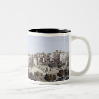 Bethlehem, engraved by Terry Two-Tone Coffee Mug