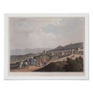 Bethlehem in Palestine, View of the Principal Part Poster