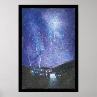 Bethlehem- semigloss poster, original illustration