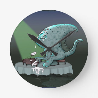 BETHOLIEN MONSTER CUTE CARTOON Medium Wall Clock
