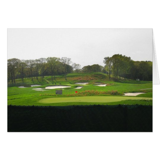 "Bethpage ""Black Course"" Card"