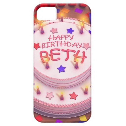 Beth's Birthday Cake iPhone 5 Covers