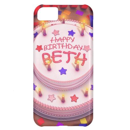 Beth's Birthday Cake iPhone 5C Cases