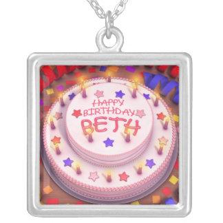 Beth's Birthday Cake Pendants