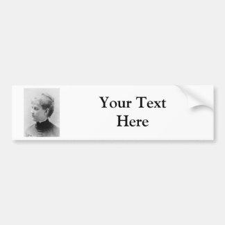 Bethune ~ Louise Blanchard Bumper Sticker