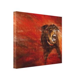 Betrayal Gallery Wrap Canvas