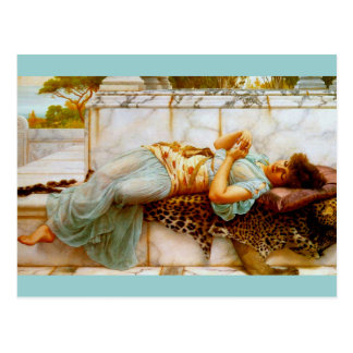 Betrothed by Godward Post Card
