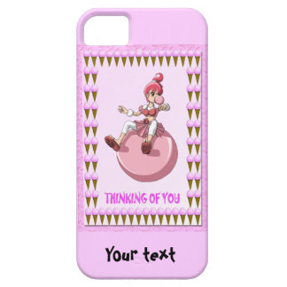 Betsy bubblegum with ice creams iPhone 5 case