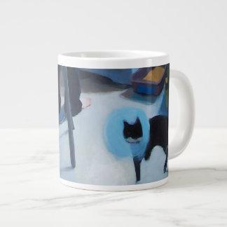 Betsy Cat in Cone Mug Jumbo Mug