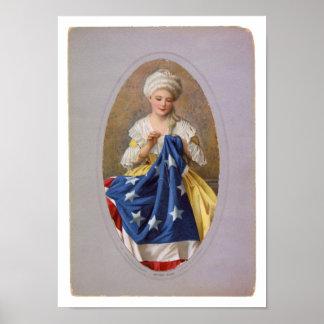 Betsy Ross, c1908, G. Liebscher Poster