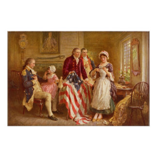 Betsy Ross Canvas Print