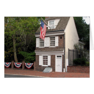 Betsy Ross House Note Card