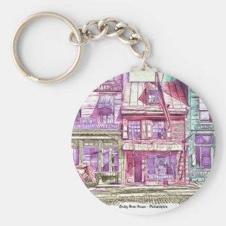 Betsy Ross House Philadelphia Key Ring