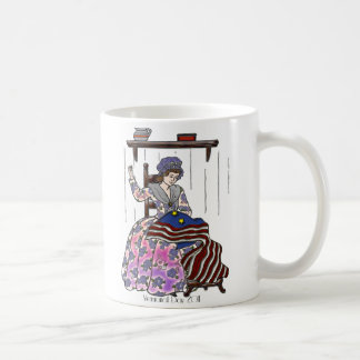Betsy Ross Makes a Flag Memorial Day Classic White Coffee Mug