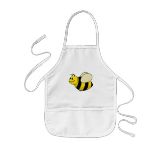 Betsy the Buzzy Bumble Bee Cartoon Kids Apron