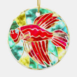 Betta Fish Christmas Tree Ornaments