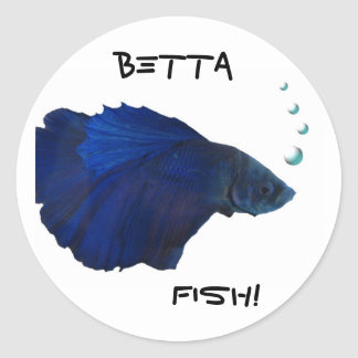 Betta Fish Sticker