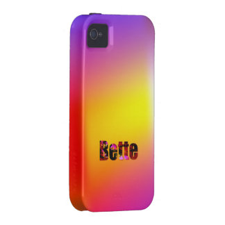 Bette Colorful iPhone case Vibe iPhone 4 Case