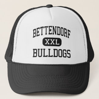 Bettendorf - Bulldogs - High - Bettendorf Iowa Trucker Hat