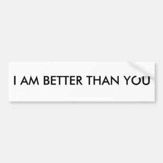 Better Bumper Sticker