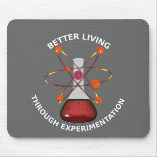 Better Living Through Experimentation Mouse Mat