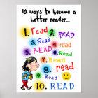 Better Reader Poster