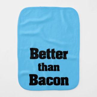 Better than Bacon Baby Burp Cloths