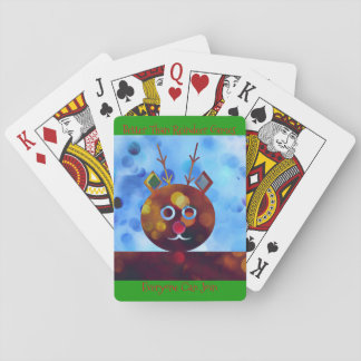 Better Than Reindeer Games Playing Cards