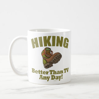 Better Than TV - Hiking Basic White Mug