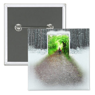 Better weather 15 cm square badge