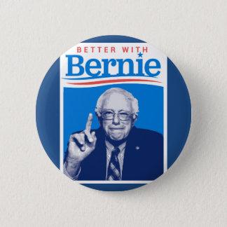 Better with Bernie 6 Cm Round Badge