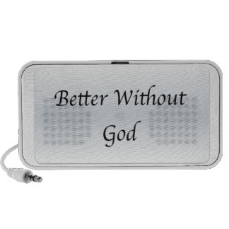 Better Without God iPhone Speaker