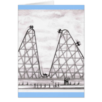 Better Worse Roller Coaster Card