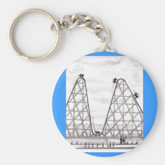 Better Worse Roller Coaster Key Ring