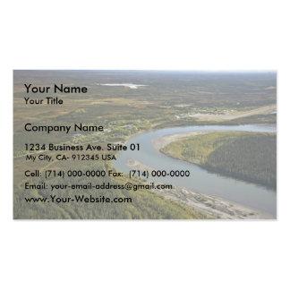 Bettles and Evansville on the Koyukuk River Business Card