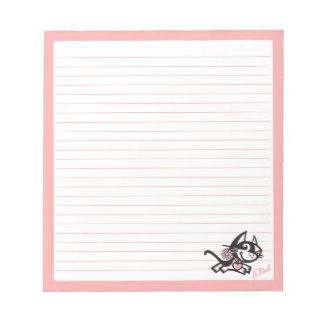 BETTY BAD . B-BAD NOTEPADS