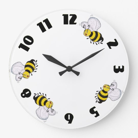 Betty Bee and Busy Bees Green Round Wall