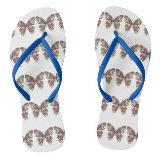 Betty Butterfly Flip Flops