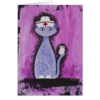 Betty, the Paisley Nurse Greeting Card