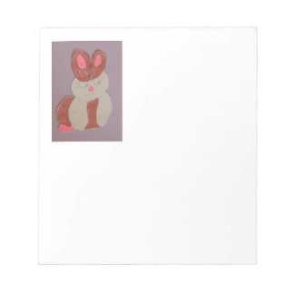 Betty the Rabbit Notepad