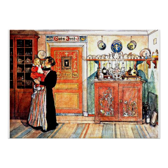 Between Christmas and New Aco, Carl Larsson art