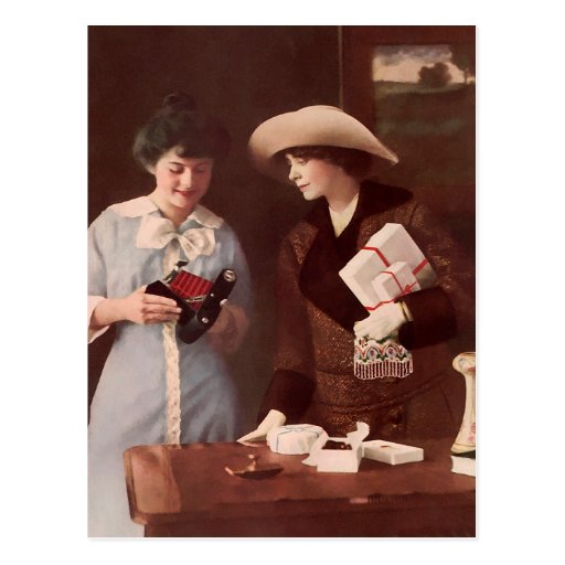 Between Friends. Circa 1915. Postcards