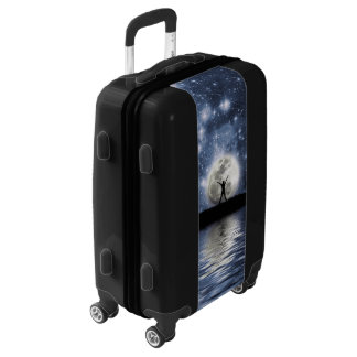 Between Heaven and Earth Luggage Suitcase